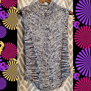 White house black market top small sweater